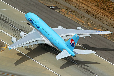 Korean Air Airbus A380-861 HL7615 4-25-17 2
