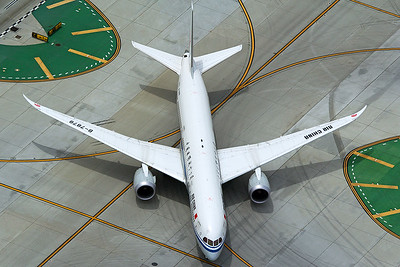 Air China Boeing 787-9 B-7878 4-25-17 3