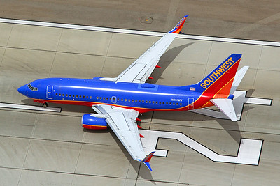 Southwest Airlines Boeing 737-7H4 N961WN 4-25-17