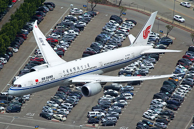 Air China Boeing 787-9 B-7878 4-25-17