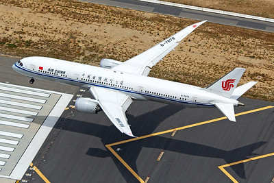 Air China Boeing 787-9 B-7878 4-25-17 2