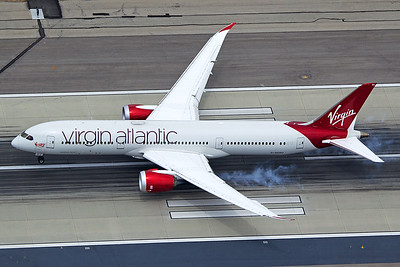 Virgin Atlantic Airways Boeing 787-9 G-VCRU 4-25-17