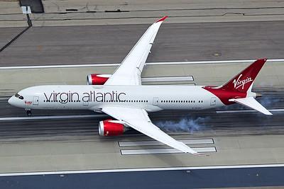 Virgin Atlantic Airways Boeing 787-9 G-VCRU 4-25-17