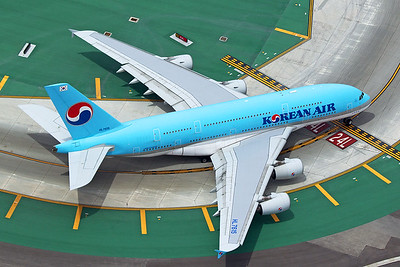 Korean Air Airbus A380-861 HL7615 4-25-17
