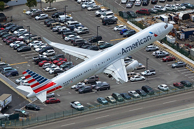 American Airlines Airbus A321-231 N144AN 4-25-17