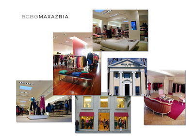 BCBG MAX AZRIA / RETAIL STORES: photography / retouching