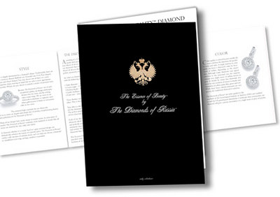 DIAMONDS OF RUSSIA / CATALOGUE & BROCHURE: design/layout/production