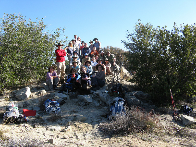 Group shot on summit of Condor Peak