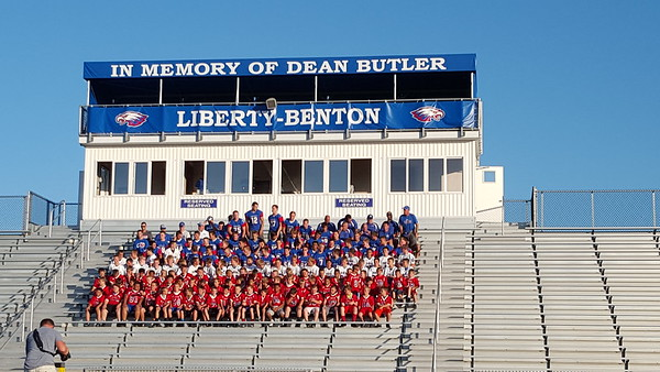 Liberty Benton Football Teams