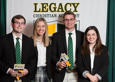 Worship Team Leader Award - Andrew Ridge, Katherine Keith, Jacob Crawford, Rachel Cain