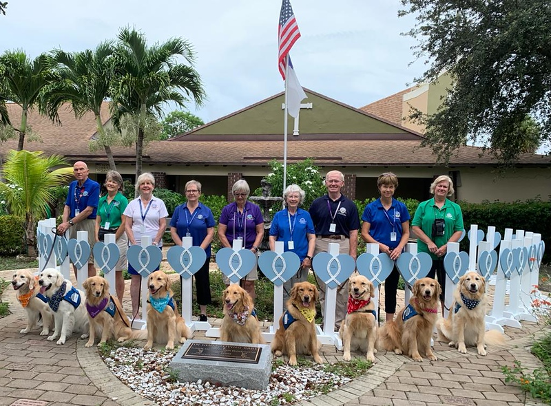 Deployment Team_Dogs_Hearts of Mercy_Holy Cross Lutheran Church