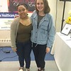 Felicity Rivera, left, and Hailey DaSilva, both of Worcester