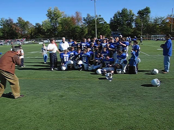 October 2006.  2012 Seniors as 7th graders win MS championship.