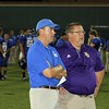 Coach Mark Perry and Kevin Wallace.