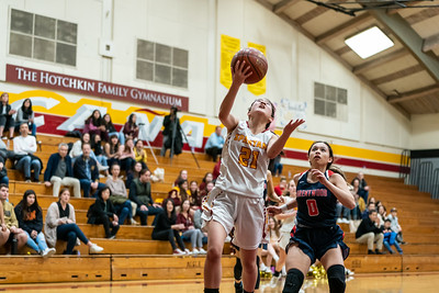 The La Canada Spartans girls varsity basketball squad hosted Brentwood for an epic CIF Round 1 post season battle.