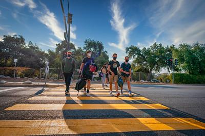 La Canada High School First Day of School 2021-22