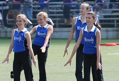 Middle School Cheerleaders and Dance