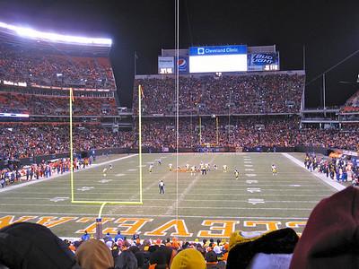 Cleveland Browns Stadium.