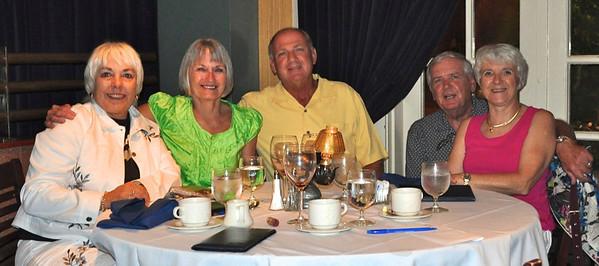 Lynn, (Kirky5);   Kathy (AnnaB) Al;   Ray (Ray) & Penny at Don's Lighthouse, Lakewood, OH, Aug. 10, 2010