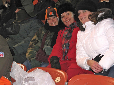What a cold night at the football game.  Wid-chill factor was -10 degrees but it was memorable and fun.