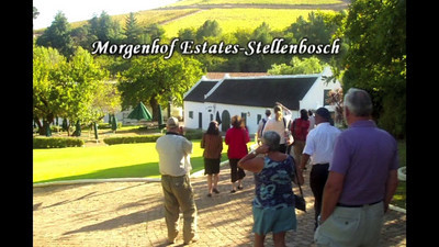 Video - c - Wine Tasting   Morgenhof Estates - Stellenbosch; Anura Vineyards - foothills of the Simonsberg Mtn. Range; Seidelbeg Wine Estate; Chamoix Winery - Franschoek; Llando Look-out; Hout Bay; Stonecrafts; Cape Point Ostrich Farm.  For medium screen viewing, click here:  http://ray-penny.smugmug.com/Vacation/LCT-Gatherings/ROAR-Videos/15371162_zrqzjd#!i=1151311146&k=P3VrNQN&lb=1&s=A  Cheers! Ray