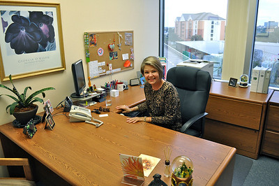 Susan and her office.