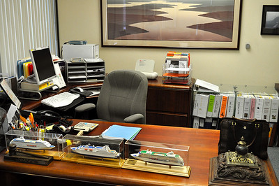 Ngaire's office.