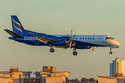 Eastern Airways Saab 2000 G-CDKB 9-17-18