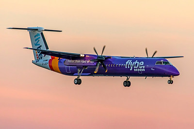 Flybe Bombardier DHC-8-Q-402NG G-JEDP 9-17-18
