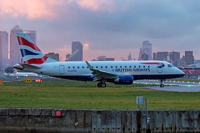 BA CityFlyer Embraer ERJ-170-100 G-LCYG 11-3-19