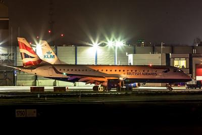 BA CityFlyer Embraer ERJ-190-100SR G-LCAB 11-22-19