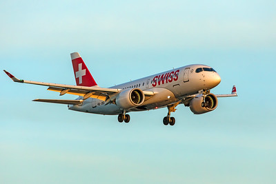 Swiss Airbus A220-100 HB-JBD 8-30-19