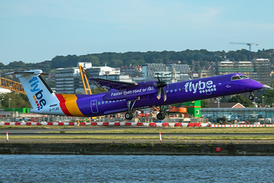 Flybe Bombardier DHC-8-402Q G-FLBE 8-30-19