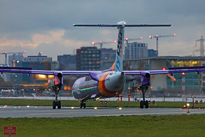 Flybe Bombardier DHC-8-402Q G-PRPE 11-3-19