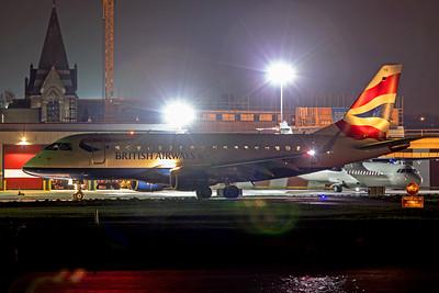BA CityFlyer Embraer ERJ-170-100 G-LCYE 11-22-19