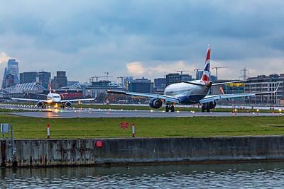 BA CityFlyer Embraer ERJ-190-100SR G-LCYZ 11-3-19