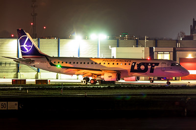 LOT Polish Airlines Embraer ERJ-190-100 SP-LMD 11-22-19
