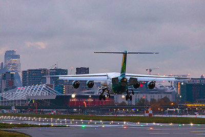 Aer Lingus British Aerospace Avro RJ85 EI-RJD 11-3-19 2