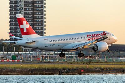 Swiss Airbus A220-100 HB-JBD 8-0-19 2