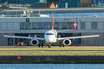 Helvetic Airways Embraer ERJ-190-100LR HB-JVQ 8-30-19