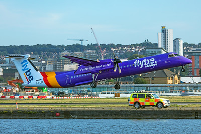 Flybe Bombardier DHC-8-402Q G-FLBD 8-30-19