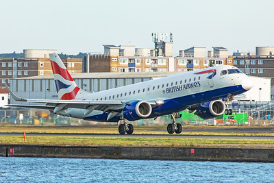 BA CityFlyer Embraer ERJ-190-100SR G-LCAA 8-30-19 3