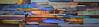 """Pontiac-Meharg, 87""""x24"""" painting on wood panel"""