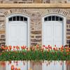 Logan Utah Temple Doors and Flowers