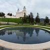 Manti Utah Temple Reflecting Pool
