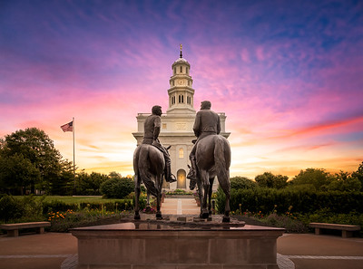 Joseph and Hyrum at Nauvoo's Sunrise