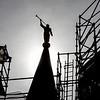 Provo City Center Temple Angel Moroni Construction
