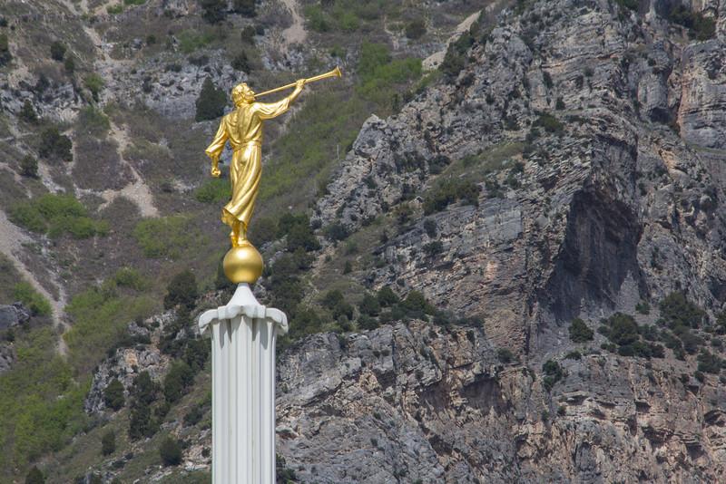 Provo Utah Temple Angel Moroni