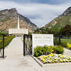 Provo Utah Temple Entrance Sign