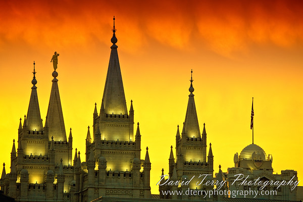 Salt Lake City Utah Temple